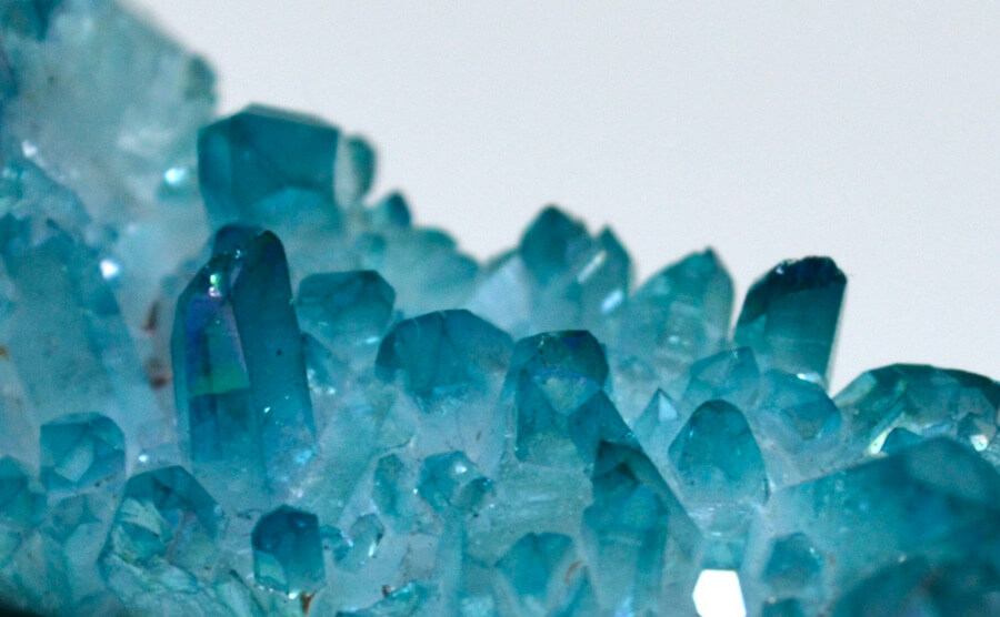 Aquamarine Birthstone in natural form