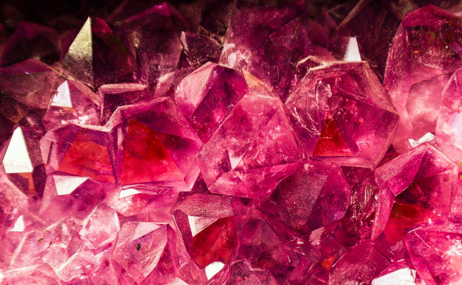 ruby birthstone in natural form