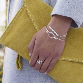 Personalised Friendship Ties Bracelet