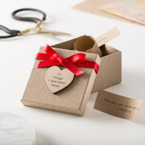 Personalised '10 Things I Love About You' Box