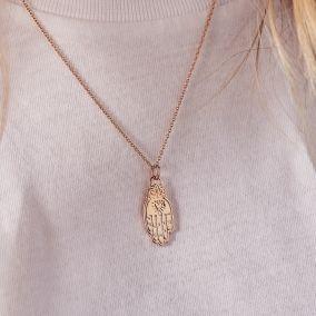Personalised Hamsa Hand Necklace