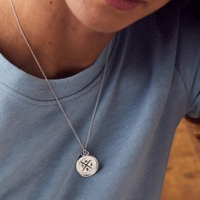Personalised Family Wax Seal Necklace