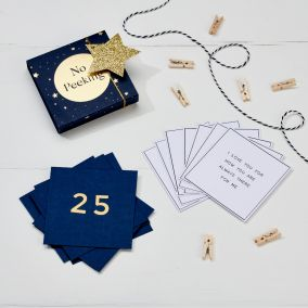 25 Things I Love About You Personalised Advent Calendar