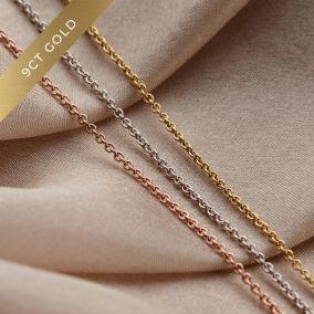 Solid 9ct Gold Chain