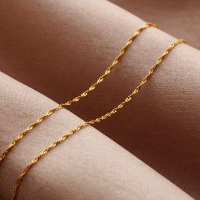Twisted 9ct Gold Bracelet