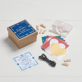 Personalised Scratch Away Advent Calendar Kit