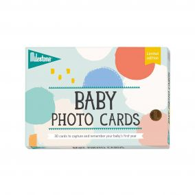 Baby's First Year Photo Card Set