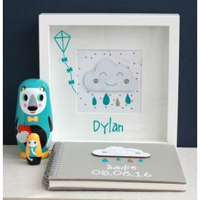 Personalised Baby Cloud Picture
