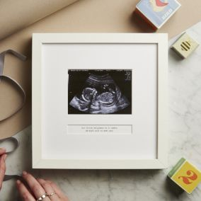 Personalised My First Scan Photo Frame