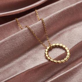 Personalised Bead Medium Message Necklace
