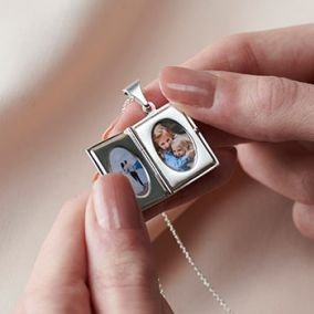Personalised 'My Story' Book Locket Necklace