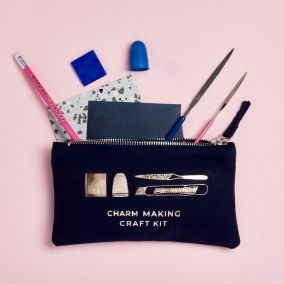 Personalised Silver Charm Making Kit