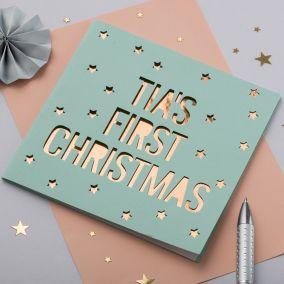 Personalised Christmas Papercut Card
