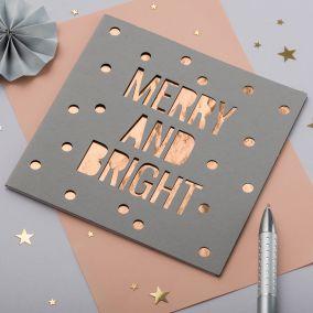 Christmas Papercut Card