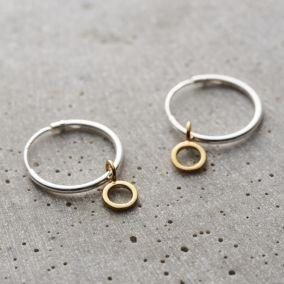 Geometric Hanging Earrings