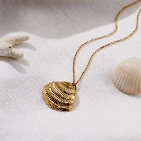 Personalised Clam Necklace