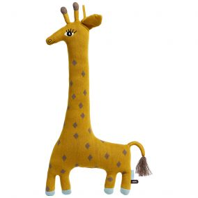 Cotton Giraffe Cushion