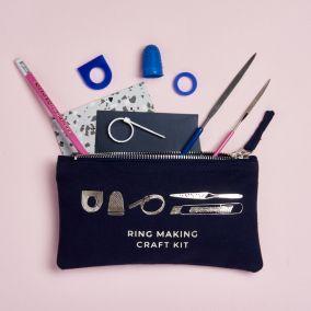 Personalised Silver Ring Making Kit