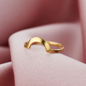 Personalised Curve Ring