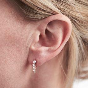 Shooting Star Stud Earrings