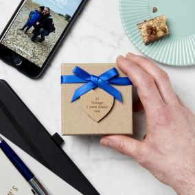 Personalised '10 Things I Love About Dad' Box