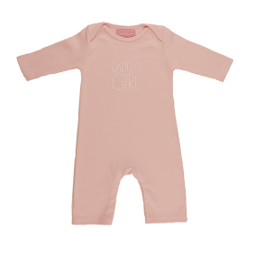 Bob & Blossom 'Daddy's Girl' Baby Sleepsuit