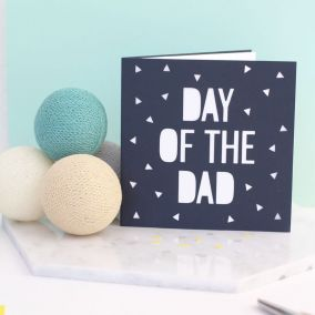 Day of the Dad Papercut Card