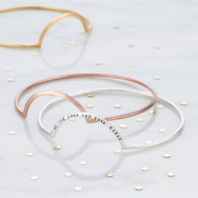 Personalised Eclipse Bangle