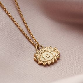 Small Evil Eye Necklace