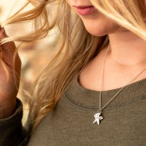 Personalised Family Star Necklace