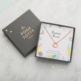 Personalised Friend Necklace Giftbox