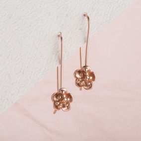 Flower Hanging Earrings