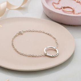 Personalised Full Circle Bracelet
