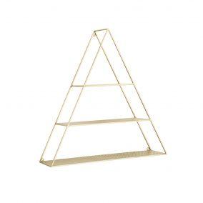 Gold Triangle Shelf