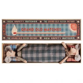 Grandma And Grandpa Matchbox Mice