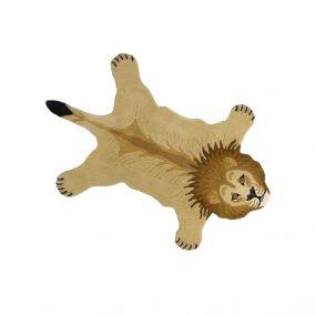 Handmade Children's Woollen Lion Rug
