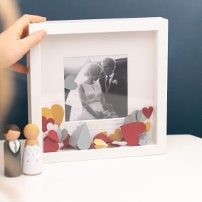 Confetti Personalised Anniversary Photo Frame