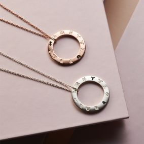 Zodiac Circle Necklace
