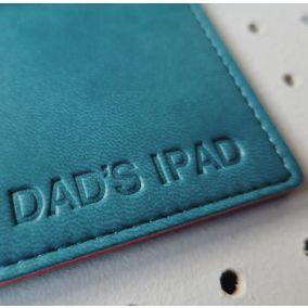 Personalised iPad PU Leather Sleeve