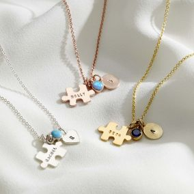Jigsaw Charm Necklace