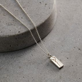 Kintsugi Personalised Tag Necklace