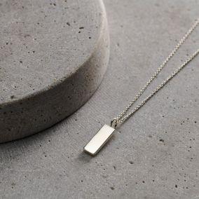 Kintsugi Personalised Tag Necklace