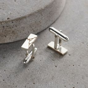 Personalised Kintsugi Cufflinks