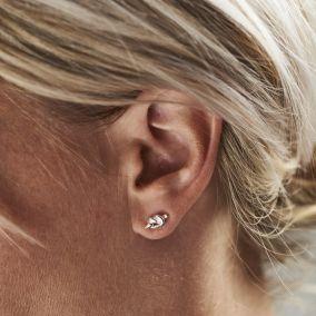 Tie The Knot Stud Earrings