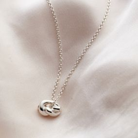 Petite Knot Necklace