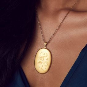 Love The Earth Large Locket