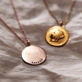 Personalised Goddess Of Liberty Necklace