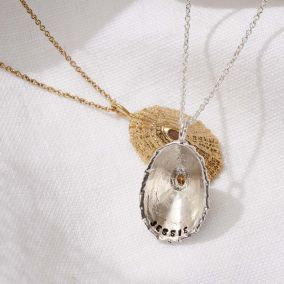 Personalised Limpet Shell Necklace