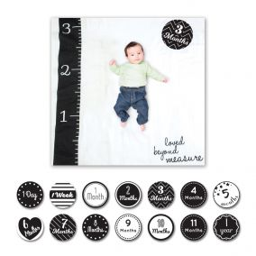 'Loved Beyond Measure' Baby's First Year Photography Blanket