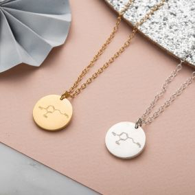 Personalised Love Molecule Necklace